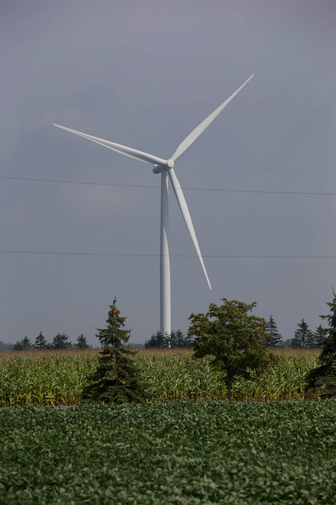 single turbine vertical
